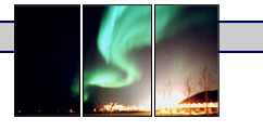 Northern Lights over Fort McMurray Alberta